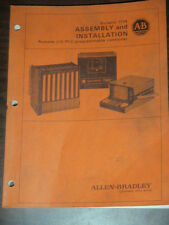 Allen Bradley Bulletin 1774 Assembly Installation Remote Programmable Controller