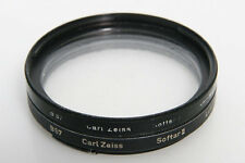 Zeiss Softar I and II Soft Image Filters For Hasselblad 50 Bayonet Lenses black
