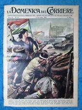 La Domenica del Corriere 11 novembre 1956 Ungheria - Egitto - Val di Susa