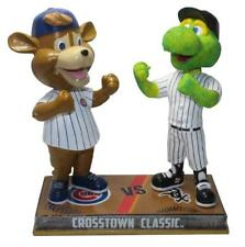 Chicago Cubs White Sox Clark Southpaw Mascot Rivalry Bobblehead MLB