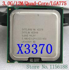 Intel Xeon X3370 3.0GHz 12M 1333MHz Quad-Core Prozessor SLB8Z LGA775-Sockel CPU