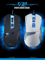 Optical Mouse Gaming Wired Computer Mice USB For Gamer 2400DPI Adjustable