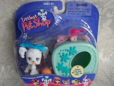 Littlest Pet Shop 2004 POODLE w/Case lot #17 Rare Retired NIB! First 80 Pets!