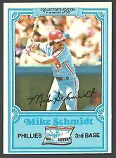 1981 Drakes Mike Schmidt #7 Card - Phillies