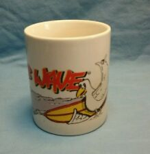 "Club Wave Coffee Cup ""Seagull and Surfboard"""