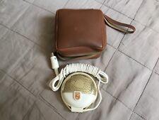 Mikrophon Philips EL 3750 - sehr schön erhalten mit ledertasche