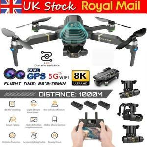 GPS 8K Camera Drone Laser Obstacle Avoidance 5G WiFi FPV Quadcopter ESC Gimbal