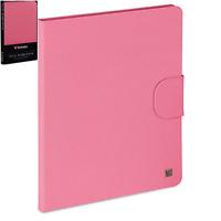 Verbatim Carrying Case (Folio) iPad - Bubble Gum Pink | iPad 2, 3 & 4