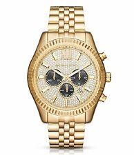 Nuevo Michael Kors MK8494 Lexington Cronógrafo Cristal Para Hombre Reloj De Lujo