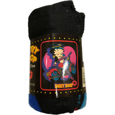 """Betty Boop Biker Betty Fleece Throw Blanket 50"""" x 60"""""""