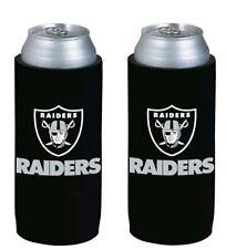 NFL Oakland Raiders 24oz TallBoy Neoprene - 2 pack