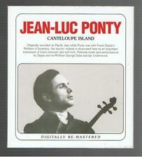 JEAN-LUC PONTY - CANTELOUPE ISLAND (2 DISC) CD ALBUM
