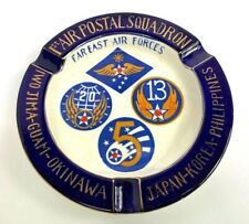 Vintage Us Army Air Forces Far East 1st Air Postal Squadron Ashtray