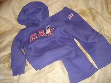 gap girl child set top trousers 2T 84 to 91cm 13 to 15kg bnwt sweatshirt purple