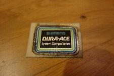 SHIMANO DURA ACE Rahmenaufkleber Sticker 1970er- um 1980 #3