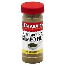 Zatarain's Pure Ground Gumbo File,1.25oz