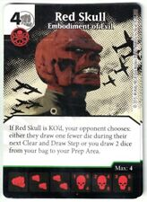 Marvel Dice Masters AOU, Red Skull Embodiment of Evil 96/142 card & Die