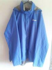Para Hombre Berghaus AQUAFOIL AQ2 impresionante abrigo chaqueta impermeable azul talla XXL