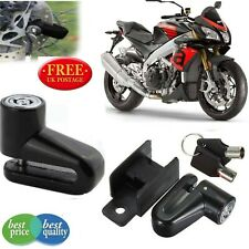 Disc Lock Heavy duty Motorbike Motorcycle Bike Scooter Padlock keys security uk