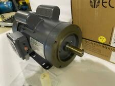 Techtop 1hp Ac Motor 1730 Rpm Tefc 115208230 Vac 143tc 1 Phase Motor