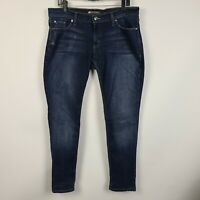 Levi's 524 Too Superlow Skinny Womens Dark Wash Jeans Size 13M 31x32