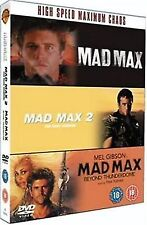 Mad Max Trilogy Mad Max / Mad Max 2 The Road Warrior 3 DiscBox Set UK R2 DVD