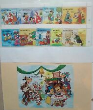Disney Postage Stamps 1984 Christmas Around the World