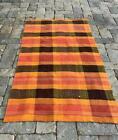 Early 20thc Rag Carpet, Quebec