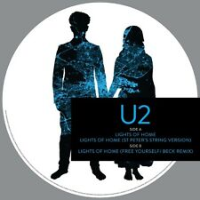 """U2 LIGHTS OF HOME NEW SEALED LIMITED PICTURE DISC VINYL 12"""" + MP3 IN STOCK"""