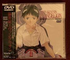 Neon Genesis Evangelion Volume 1: Episodes 1-4 DVD 1995.