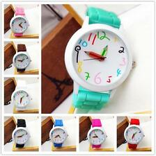 HOT WOMENS MENS KIDS GIRLS BOYS LADIES WATCHWRIST WATCH JELLY SILICONE WATCHES