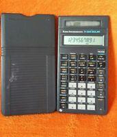 Rare Vintage Texas Instruments TI36X TI-36X Solar Calculator 10 Digit