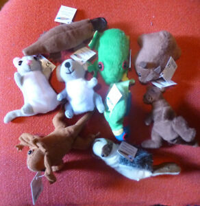 AUSTRALIAN ANIMAL GIFTS FINGER PUPPETS COLLECTION of 9 Different FROG KOALA