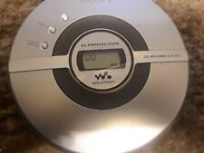 Sony D-EJ109 Portable CD Walkman G Protection Silver Discman Compact Disc