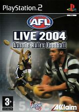 AFL Live 2004: Aussie Rules Football PS2 (Playstation 2)-Free Postage- UK Seller