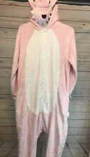 Pink Dragon Adult Costume Onsie Unisex Size Small S Pajamas