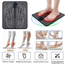 EMS Leg Reshaping Foot Massager Mat Pad Muscle Blood Circulation Pain Relief