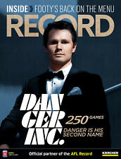 Offical AFL Footy Record - Round 2 - 2020 - Patrick Dangerfield 250 Games Cover