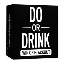 DO OR DRINK Board Games Drinking Game The New Board Game Card English Edition