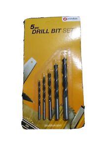 5pc Wood Drill Bit  Set