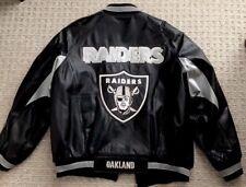 Carl Bank's G-III XL Los Angeles Raiders Jacket