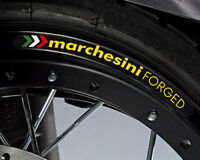 Marchesini Forged Wheel Decal Rim Stickers Set Ducati 848 1098 1198 Monster /243
