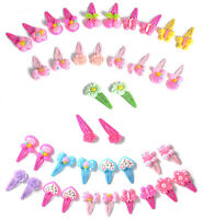 20PCS Mixed Lovely Styles Assorted Baby Kids Girls HairPin Hair Clips Jewelry