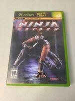 Ninja Gaiden Orignal Xbox Game Disc & Case