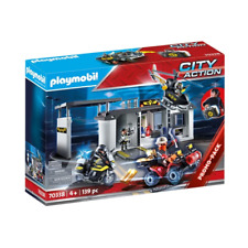 Playmobil 70338 Take Along Tactical Unit Headquarters Brand New