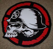"METAL MULISHA Skull Helmet Target Skate Sticker 8"" motocross skateboard decal"