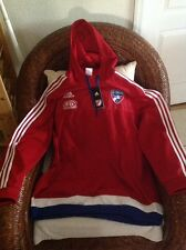 adidas FC dallas  soccer Travel Hoody new with tags Size 2XL Men's