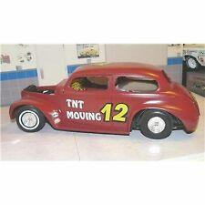 1/18 custom made 1940 Chevy race car #12 , modified sportsman , no box