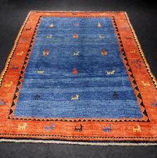 Orient Teppich Blau 245 x 187 cm Rot Perserteppich Red Carpet Rug Tappeto Tapis