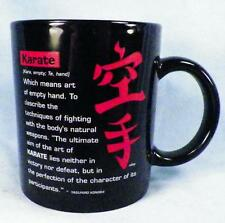 Karate Coffee Mug Art of Empty Hand Fighting With Body's Natural Weapons